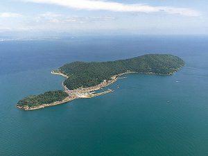 海なし県の離島「沖島」