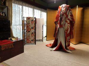 セミナーハウス改築記念イベント「昭和の花嫁展」