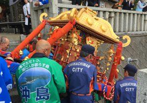 山神祭・弁天祭、奥津島神社の春の大祭