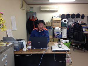 沖島防災コミュニティセンター(沖島分団詰所)